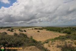 Onbekende dode vrouw in duinen