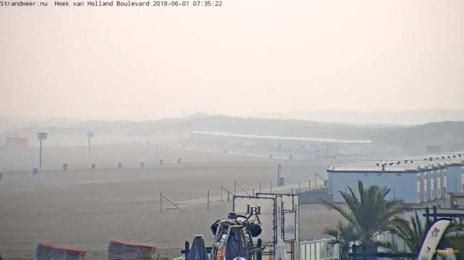 Het strandweer voor vrijdag 1 juni
