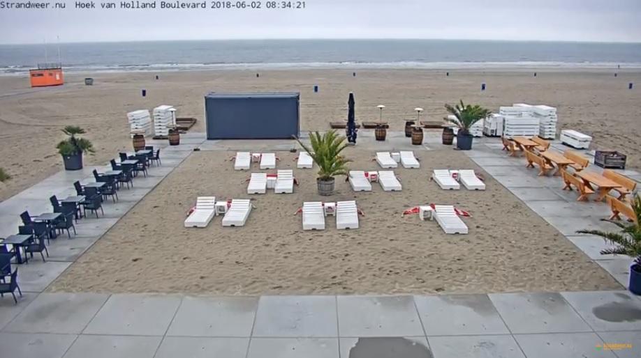 Het strandweer voor zaterdag 2 juni