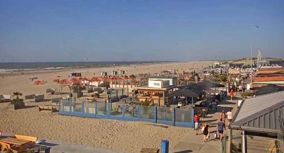 Het strandweer voor de 2e week van april