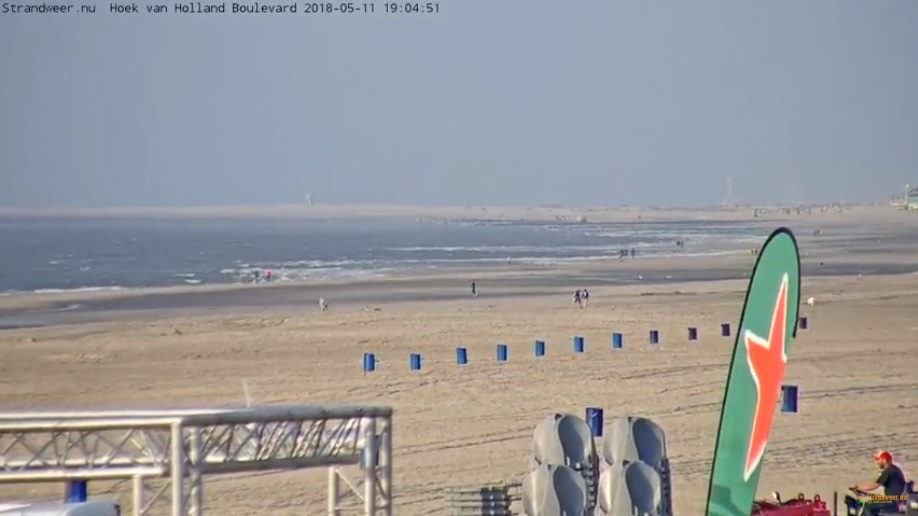 Webcam Hoek van Holland weer online