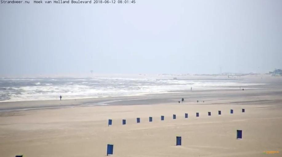 Het strandweer voor dinsdag 12 juni