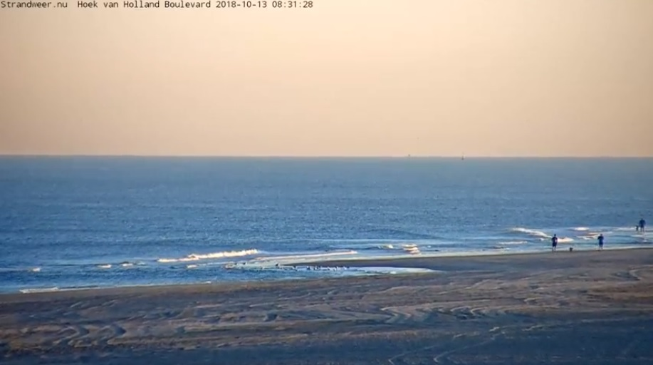 Het strandweer voor 2e weekend oktober