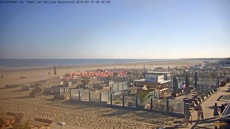 Zomers strandweer voor zondag 15 juli