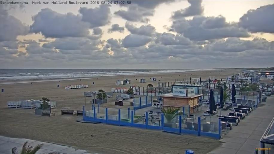 Het strandweer voor vrijdag 24 augustus