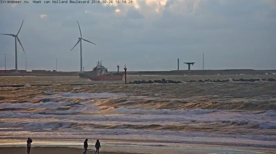 Koeler strandweer voor laatste weekend oktober