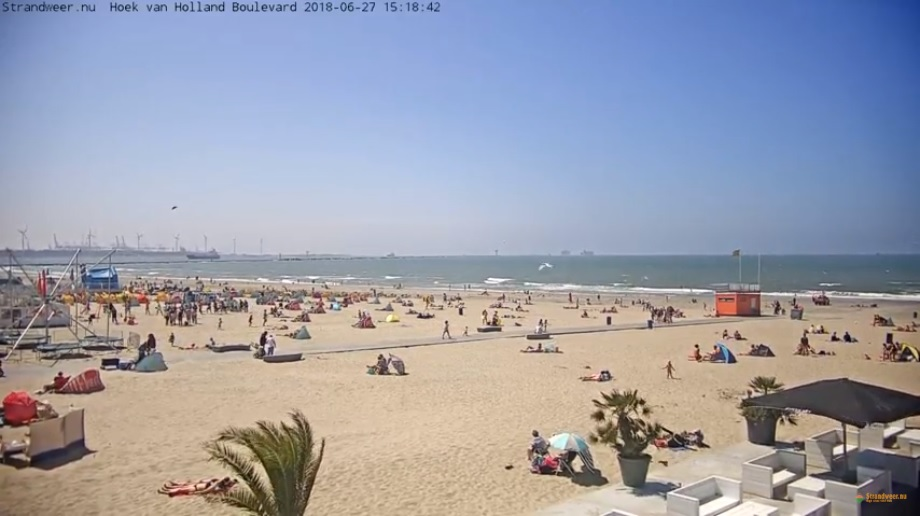 Het strandweer voor donderdag 28 juni
