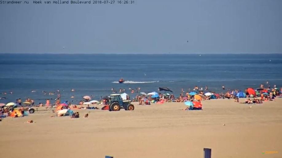 Het strandweer voor zaterdag 28 juli