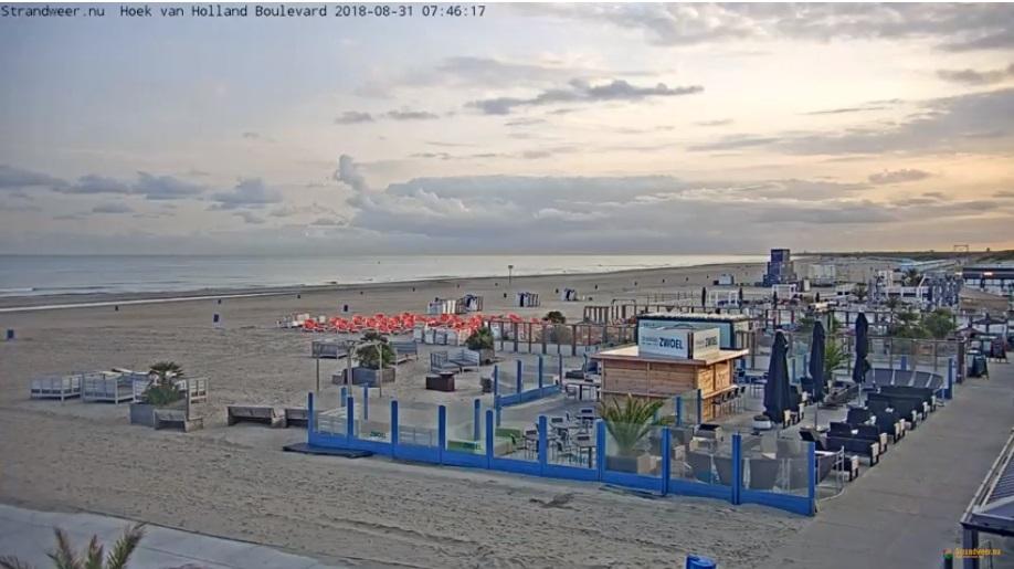 Het strandweer voor vrijdag 31 augustus
