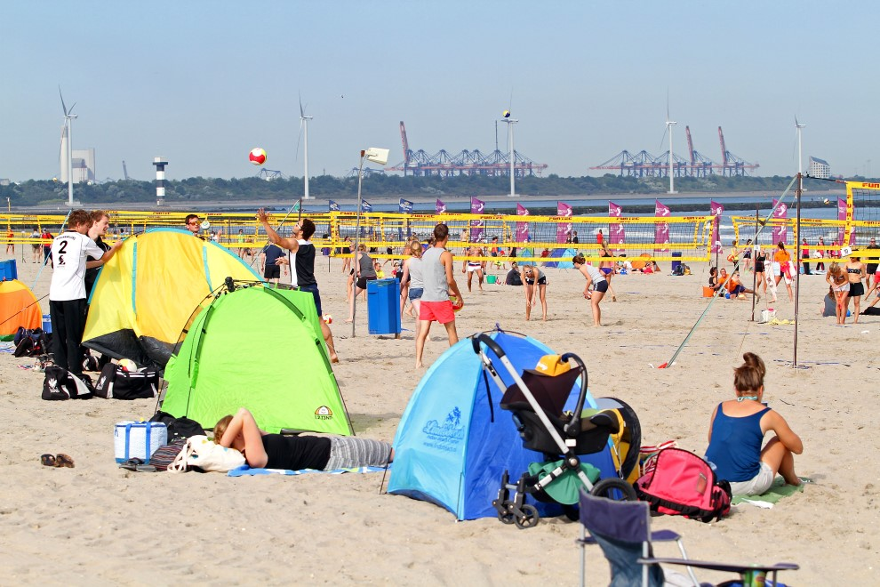 Summer Beach Volleyball Circuit augustus in 'de Hoek'