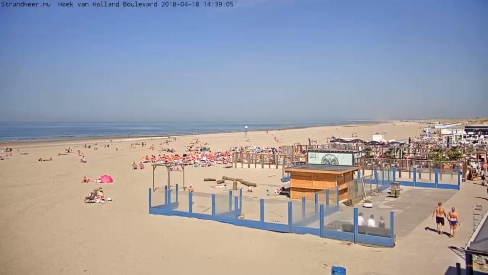 Het strandweer voor donderdag 19 april