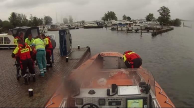 Hachelijk avontuur op het IJsselmeer