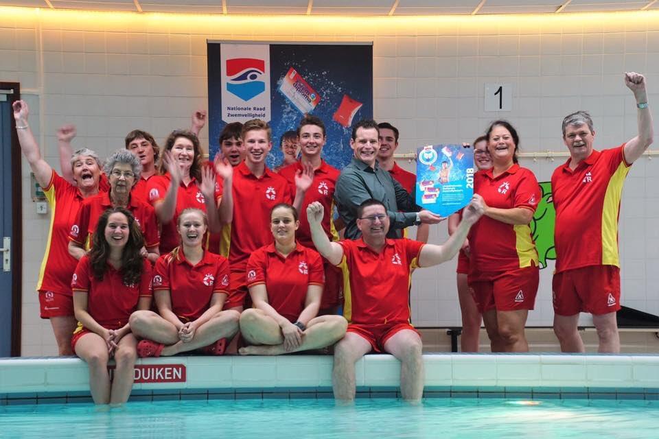 Licentie voor Zwem ABC door  Nationaal Platform Zwembaden NRZ toegekend