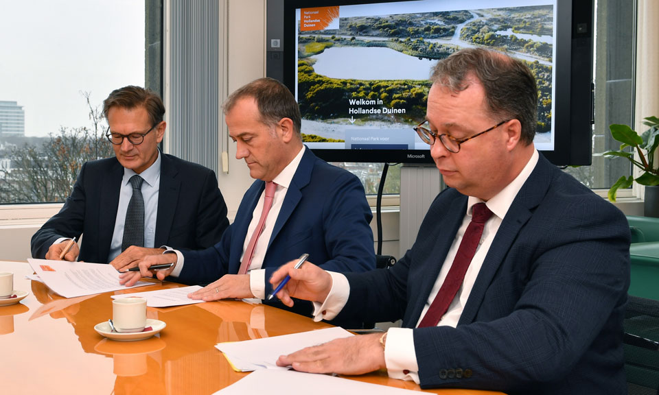 Nationaal Park Hollandse Duinen verder als stichting