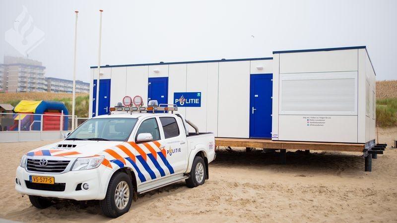 Politie-strandposten Kijkduin en Scheveningen weer in gebruik