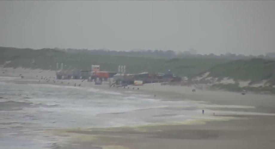 Het strandweer op vaderdag 17 juni