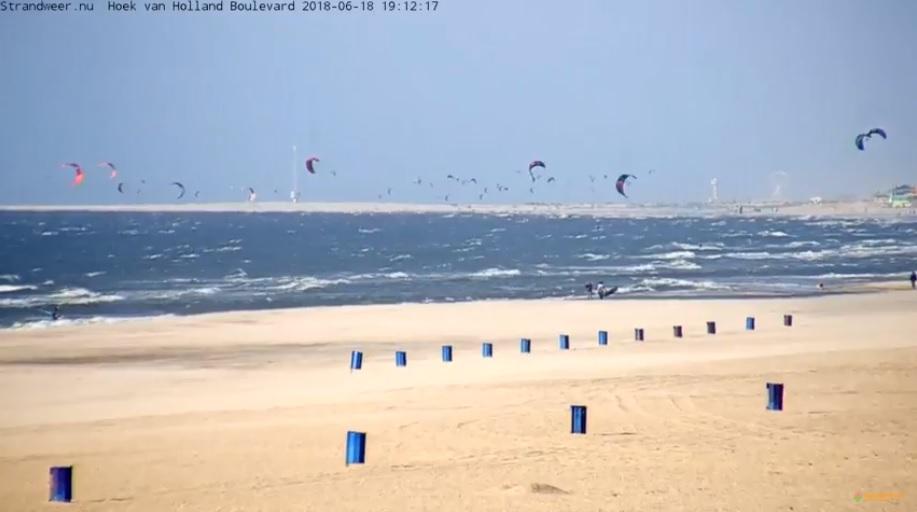 Het strandweer voor dinsdag 19 juni