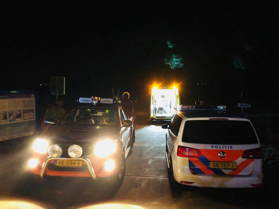 Fietsen barricaderen in/uitgang reddingsbrigade