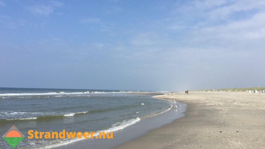 Zomers strandweer voor woensdag 22 augustus