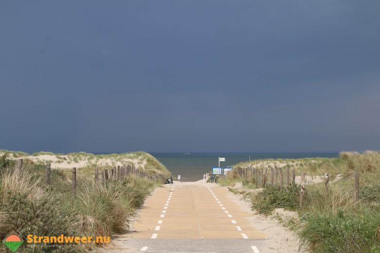 Het strandweer voor donderdag 9 augustus