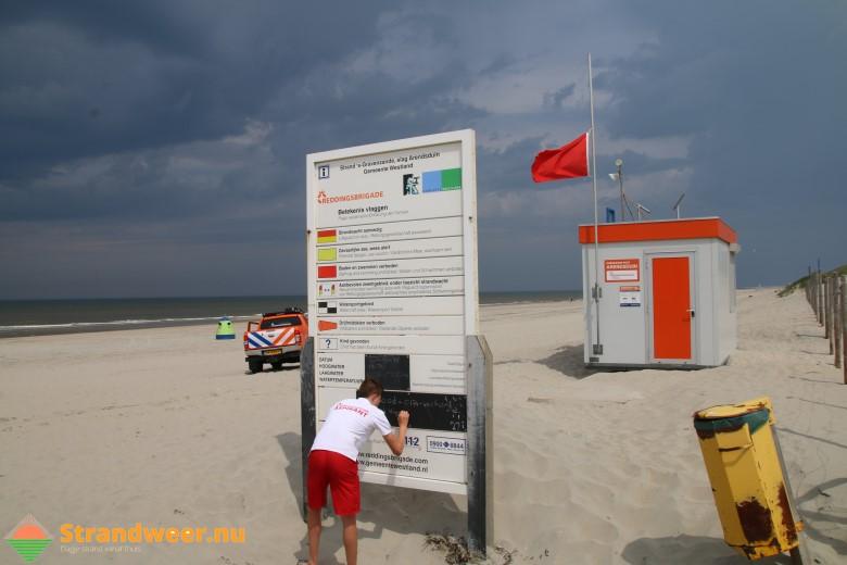 Het strandweer voor zondag 12 augustus