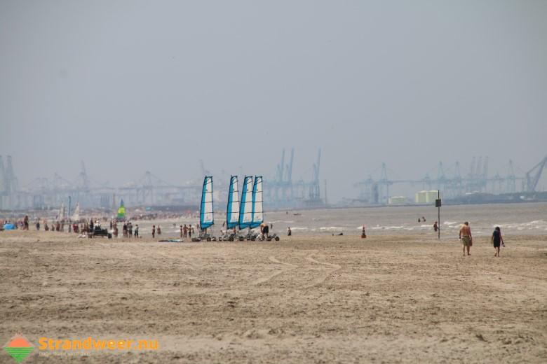 Het strandweer voor zondag 24 juni
