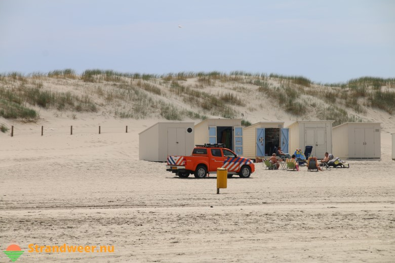 Het strandweer voor maandag 28 mei