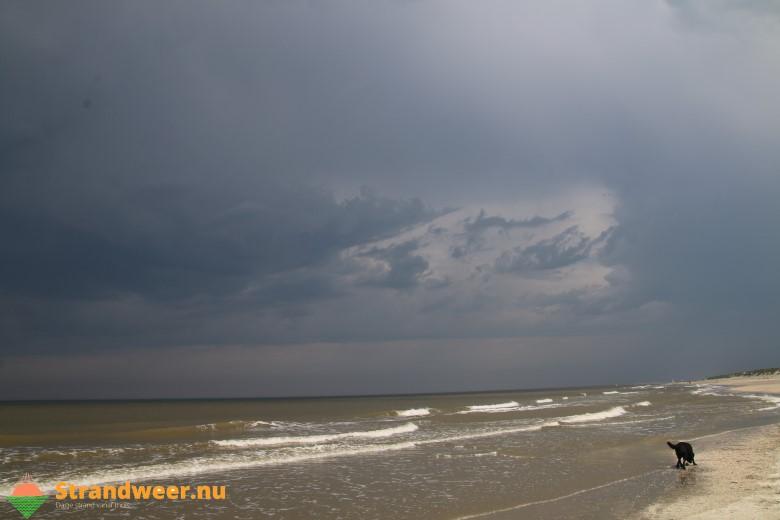 Het strandweer voor donderdag 23 augustus