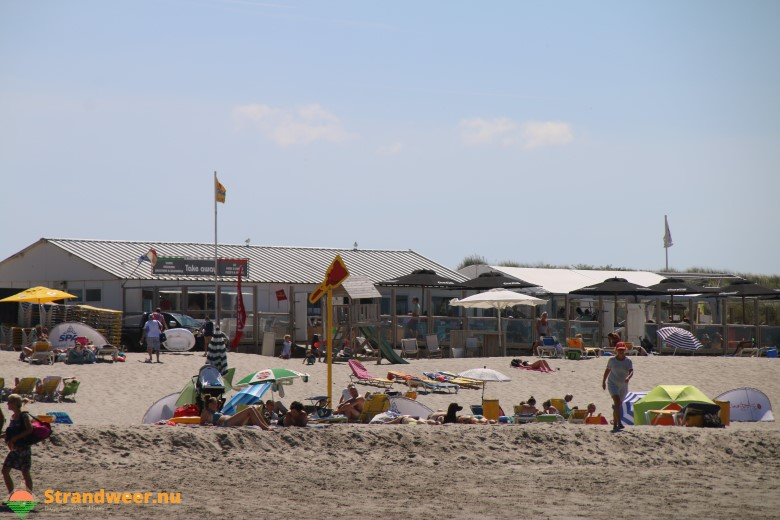 Tropische strandweer voor dinsdag 7 augustus