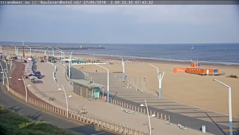 Het strandweer voor zondag 27 mei