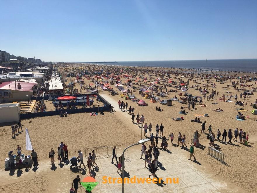 Nederlanders zondag massaal naar het strand