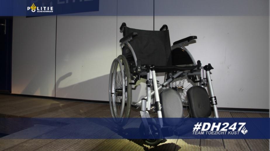 Wie is zijn rolstoel kwijt?