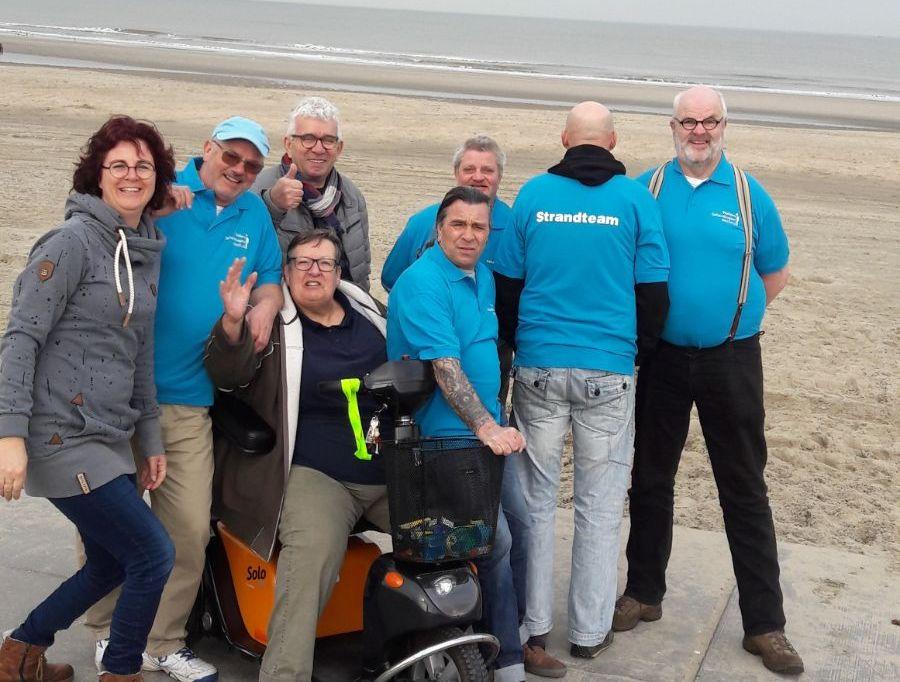 Team strandvegers helemaal klaar voor nieuw strandseizoen