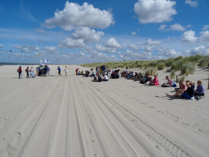 Boskalis Beach Cleanup Tour 2018 in Ter Heijde
