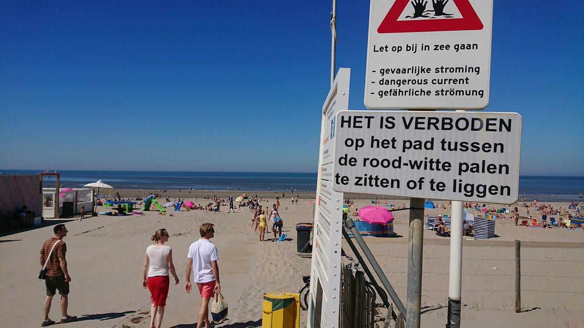 Reddingsbrigade waarschuwt voor oververhitting en zonnesteek