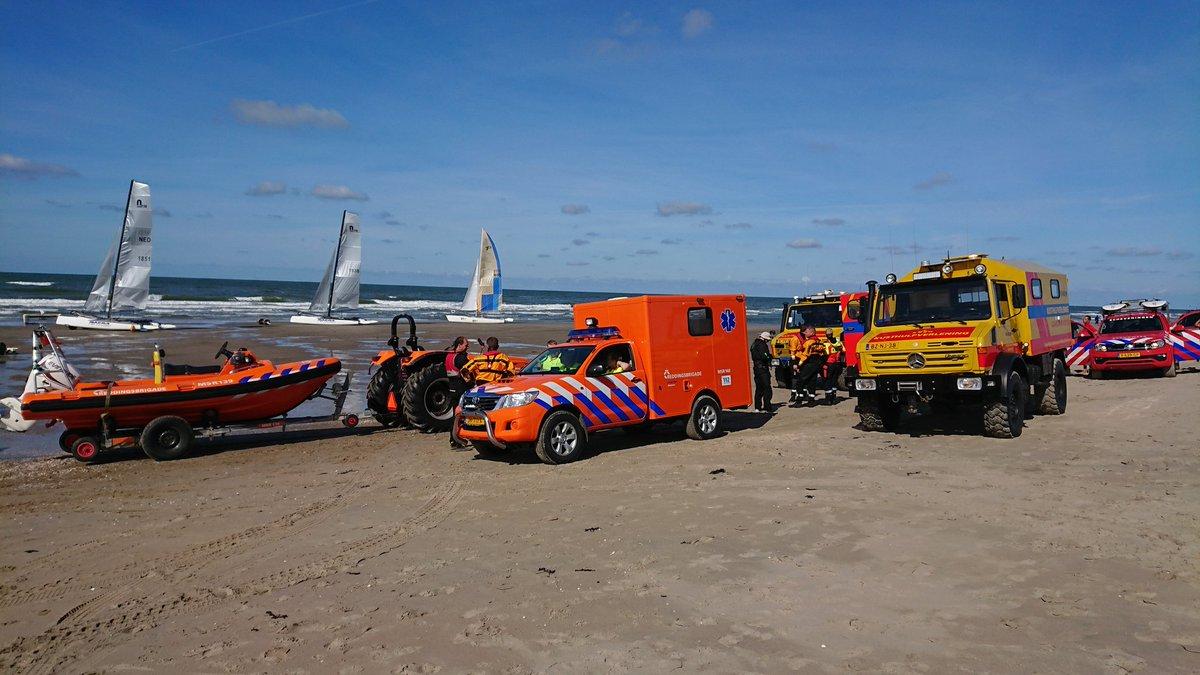 Dubbele inzet KNRM voor incidenten bij de Zandmotor
