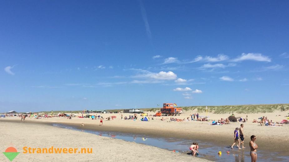 Het strandweer voor maandag 16 juli