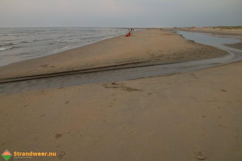 Het strandweer voor maandag 13 augustus