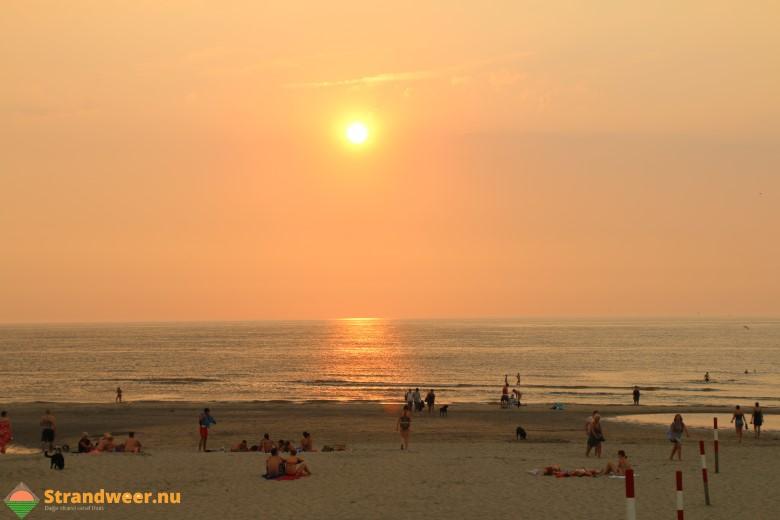 Tweede tropische stranddag op vrijdag 27 juli
