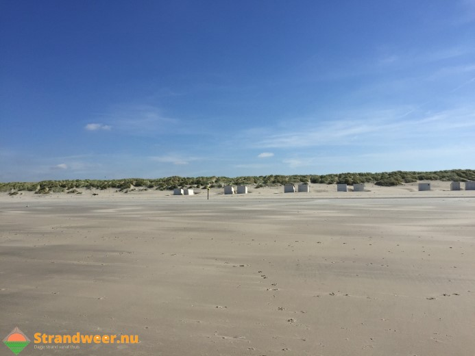 Het strandweer voor komend weekend