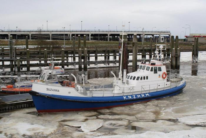 Reddingboten Waddengebied uit dienst door ijsgang