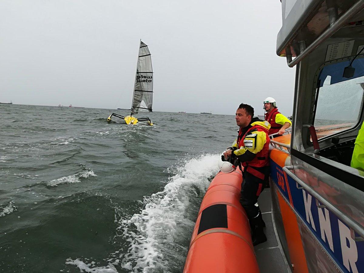 Diverse incidenten zondag op het water