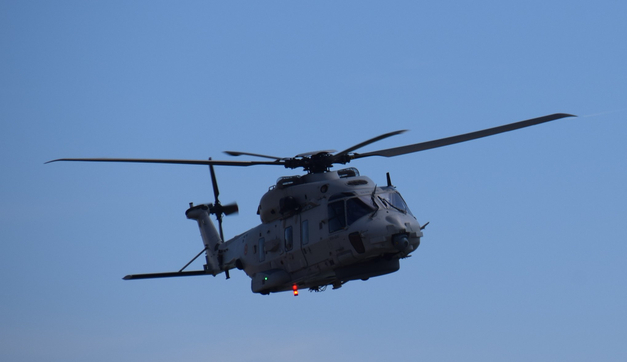 Search and rescue bij Vlissingen met NH 90