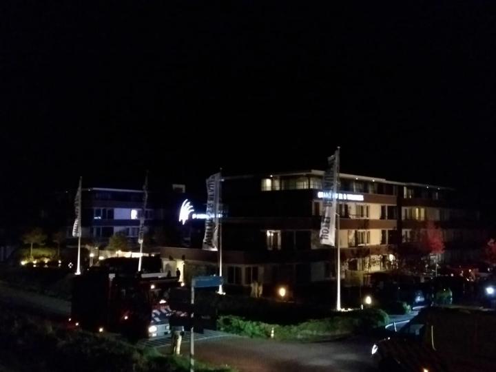 Grote brand in hotel De Kamperduinen