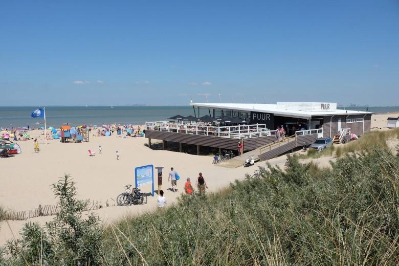 Nieuw paviljoen Puur voorjaar 2019 weer open