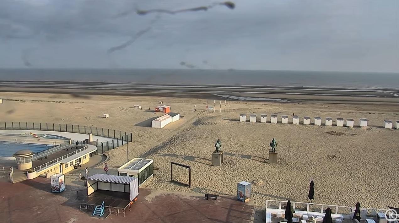 Het strandweer voor woensdag 21 juli
