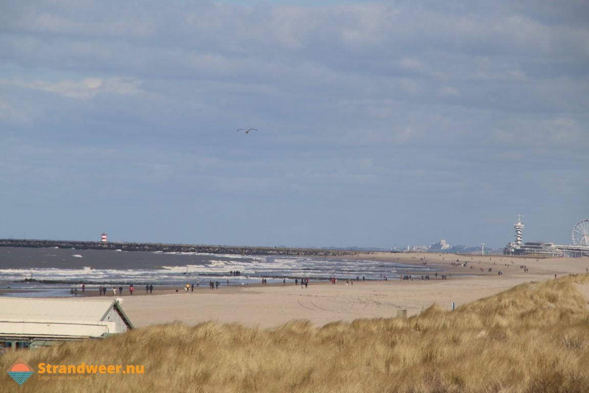 Het strandweer voor de 2e week van maart