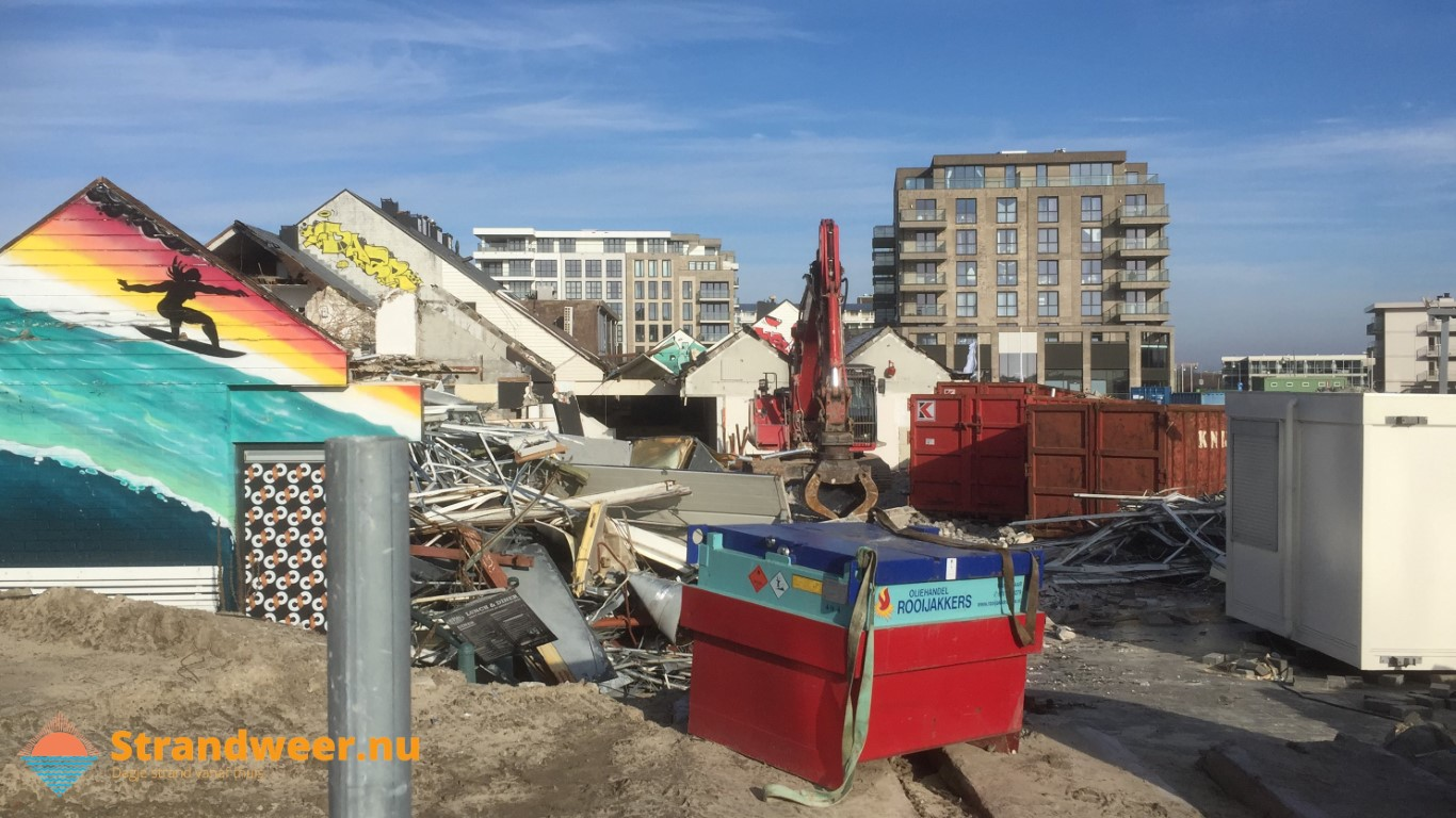 Sloop oude winkelcentrum Kijkduin gestart