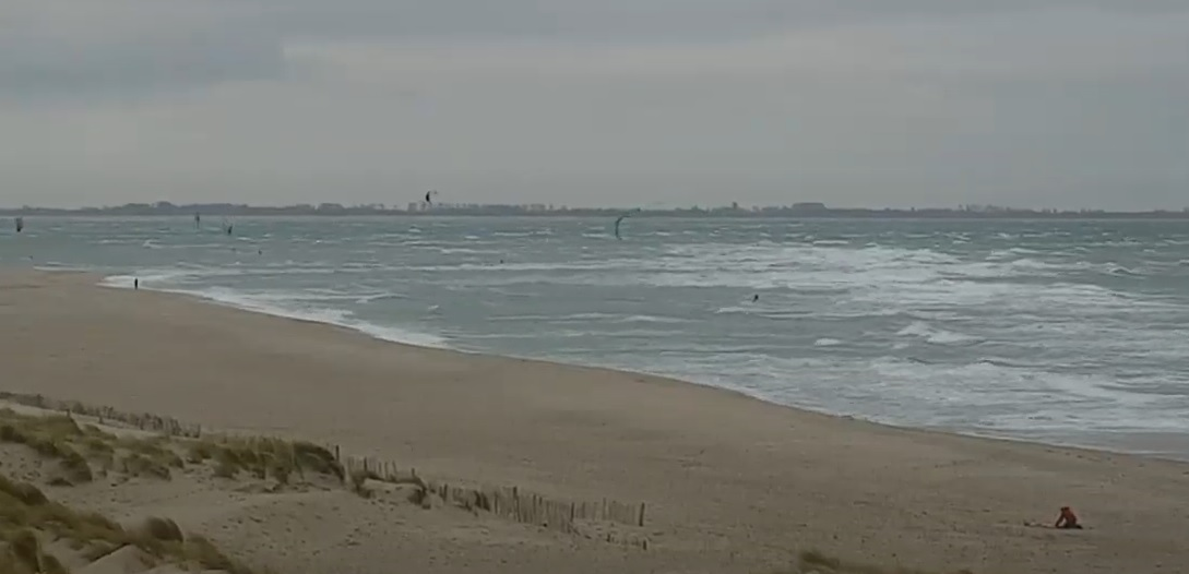 Het strandweer voor dinsdag 12 januari