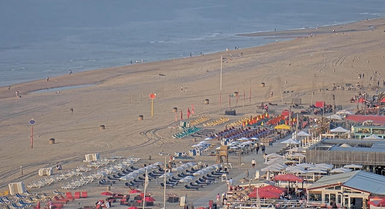Het strandweer voor dinsdag 7 september
